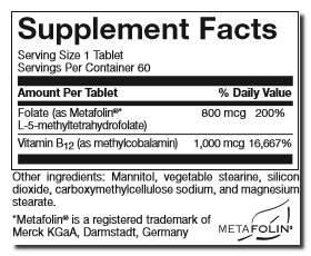 Active L-MethylFolate B12-suppfacts